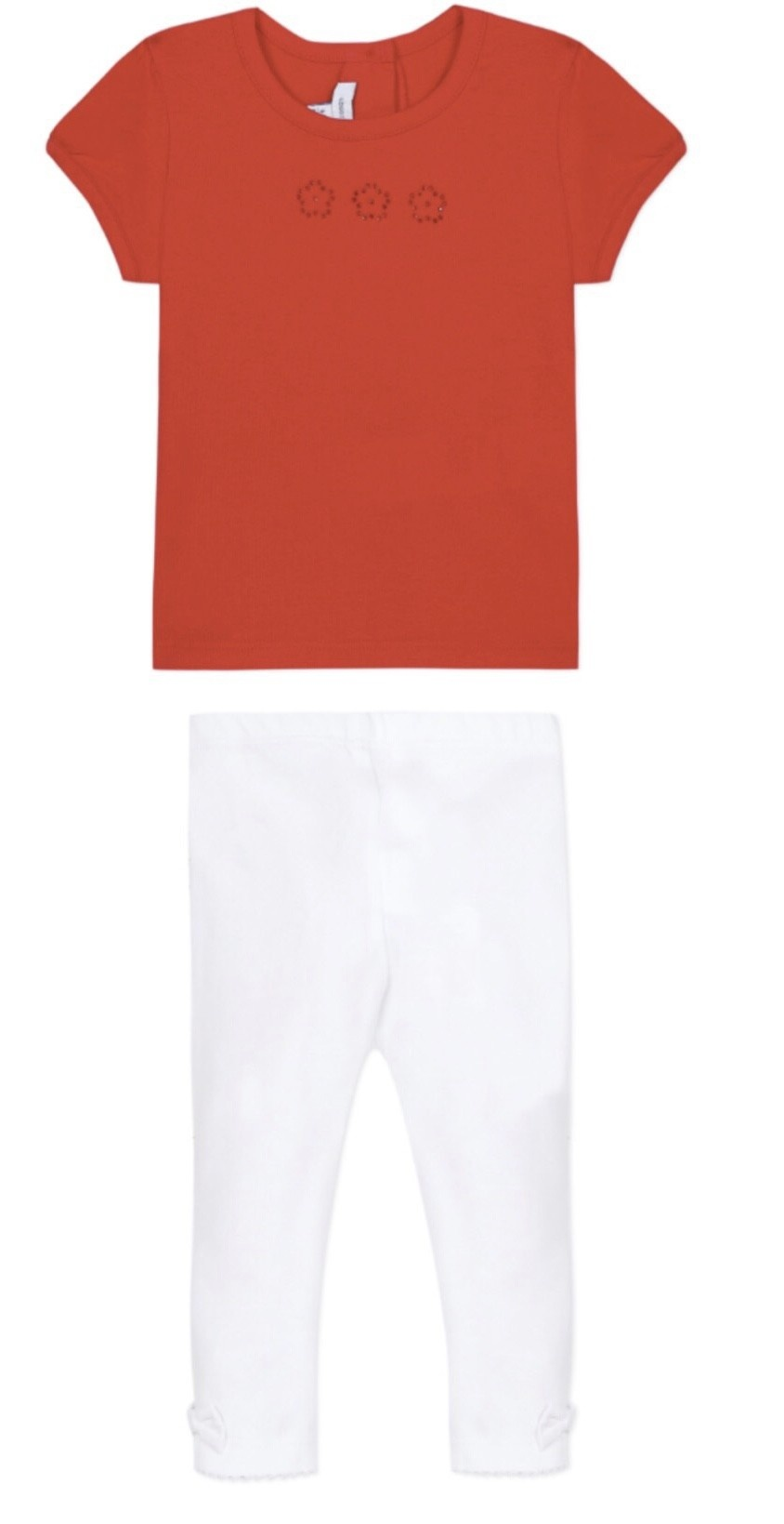 Absorba Absorba Red Tee Legging Set