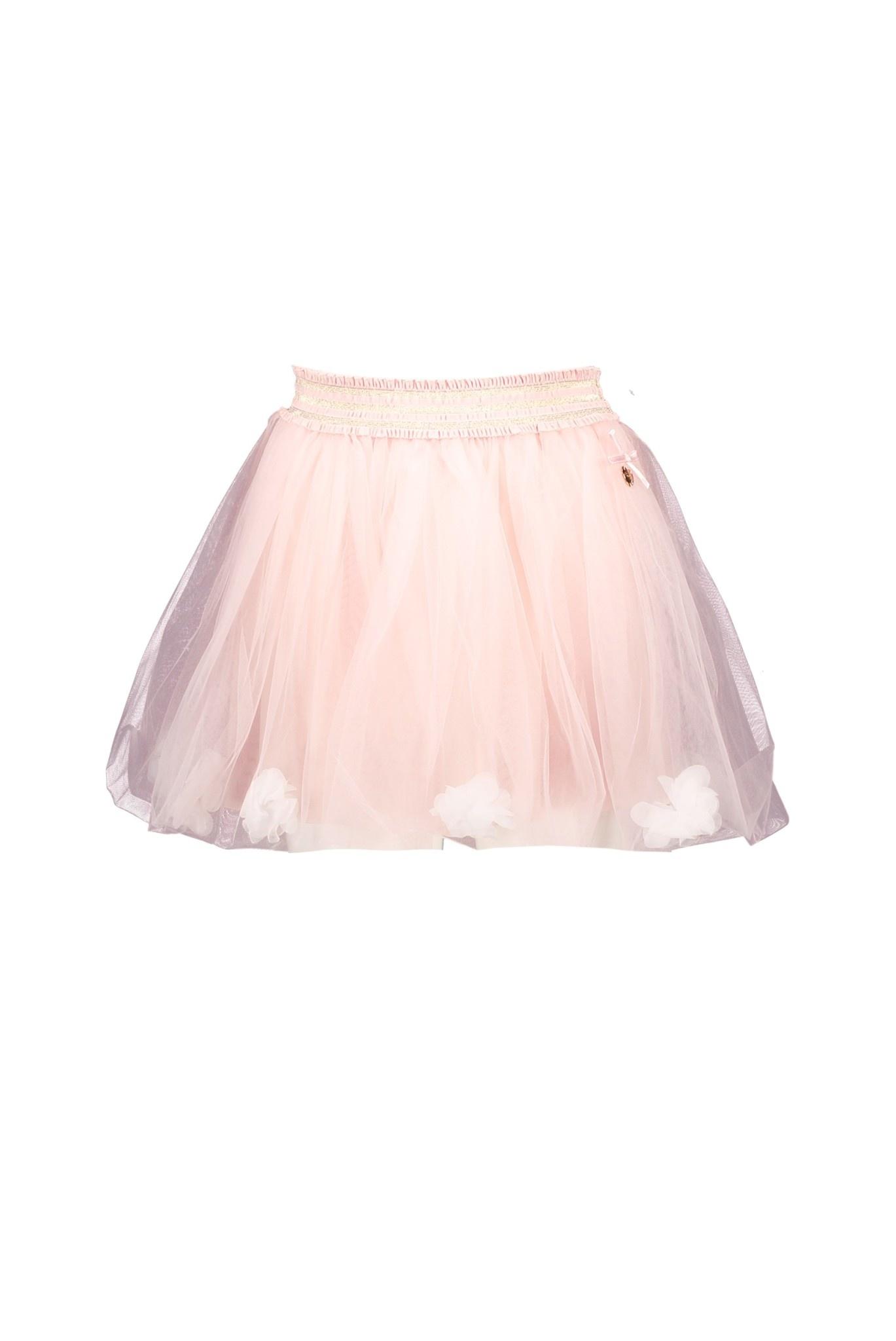 Lechic LeChic Pink Petticoat Flower Skirt