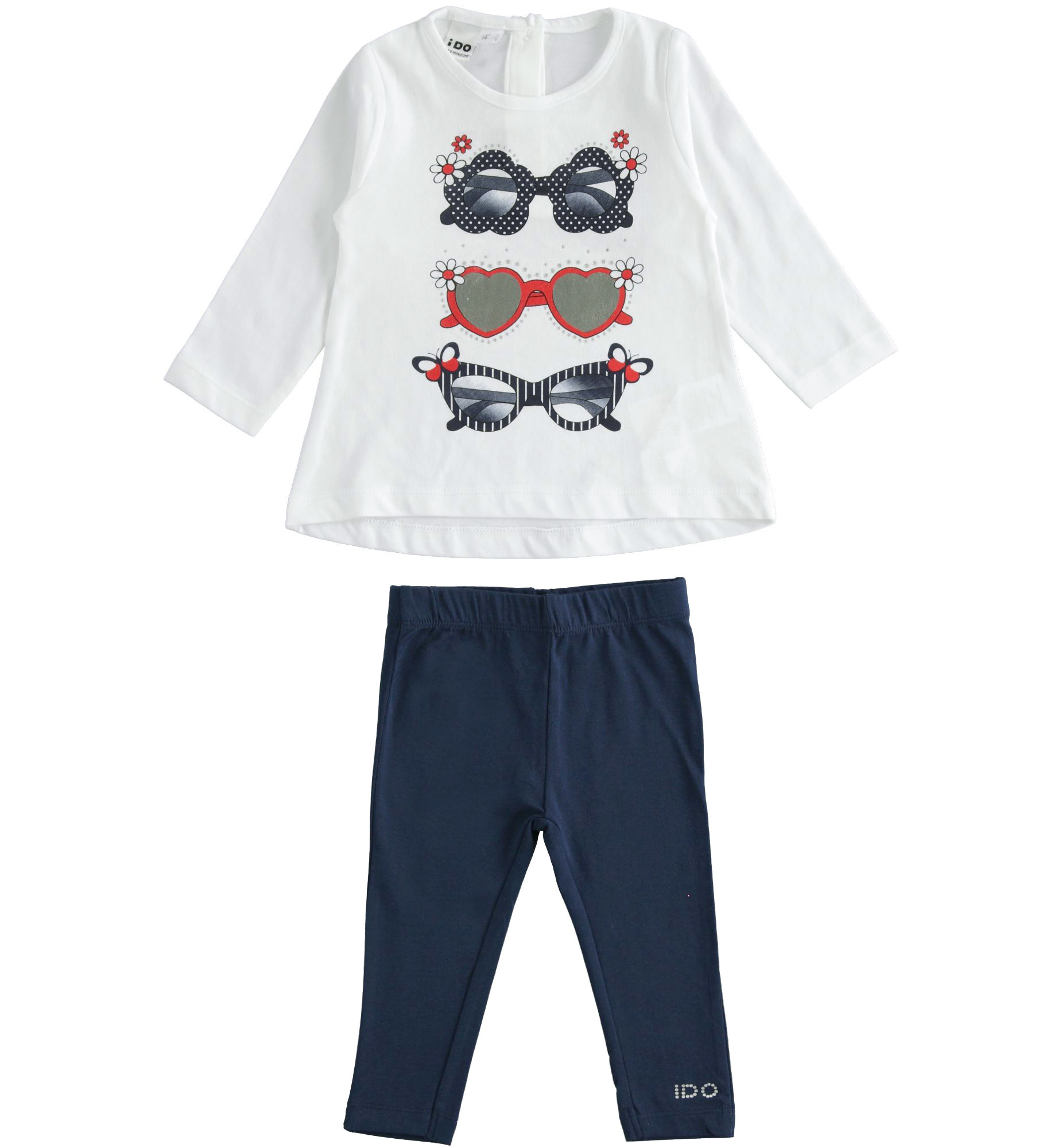 Ido IDo J273 Trio Sunglasses Long Sleeve t-shirt & Legging Set