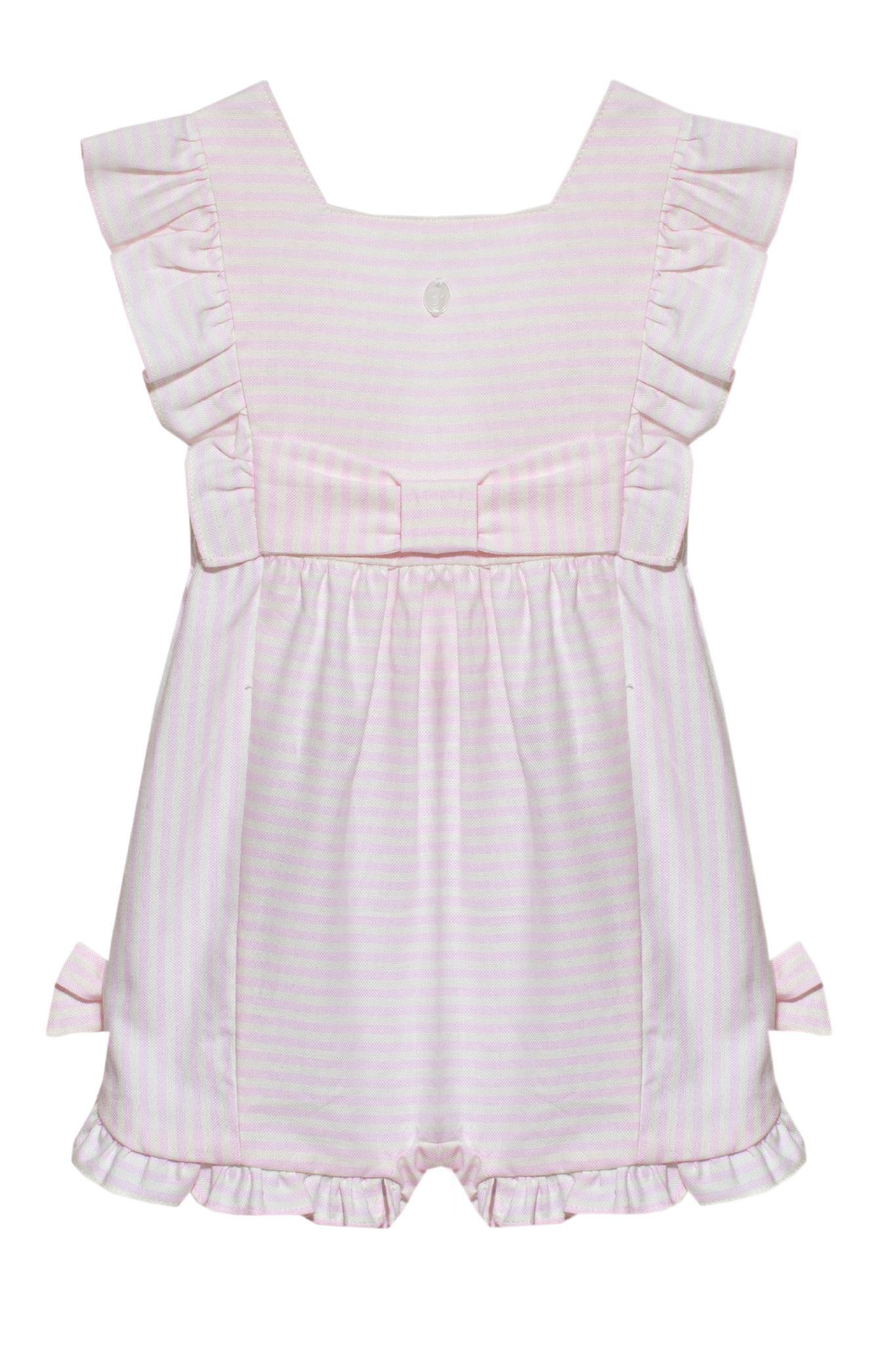Patachou Patachou Baby 213 Pink Stripe Romper