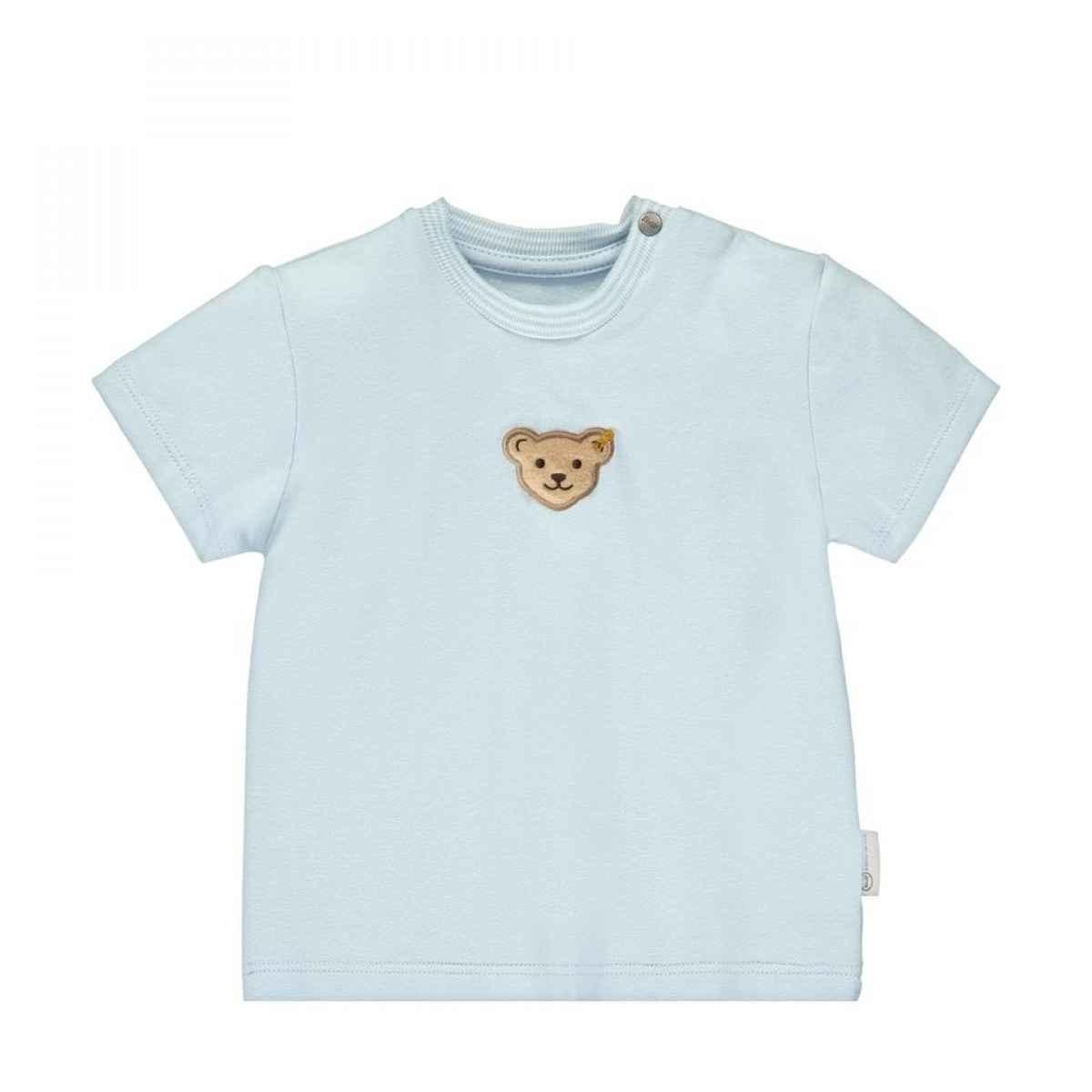 Steiff Steiff Pale Blue T-shirt With Teddy