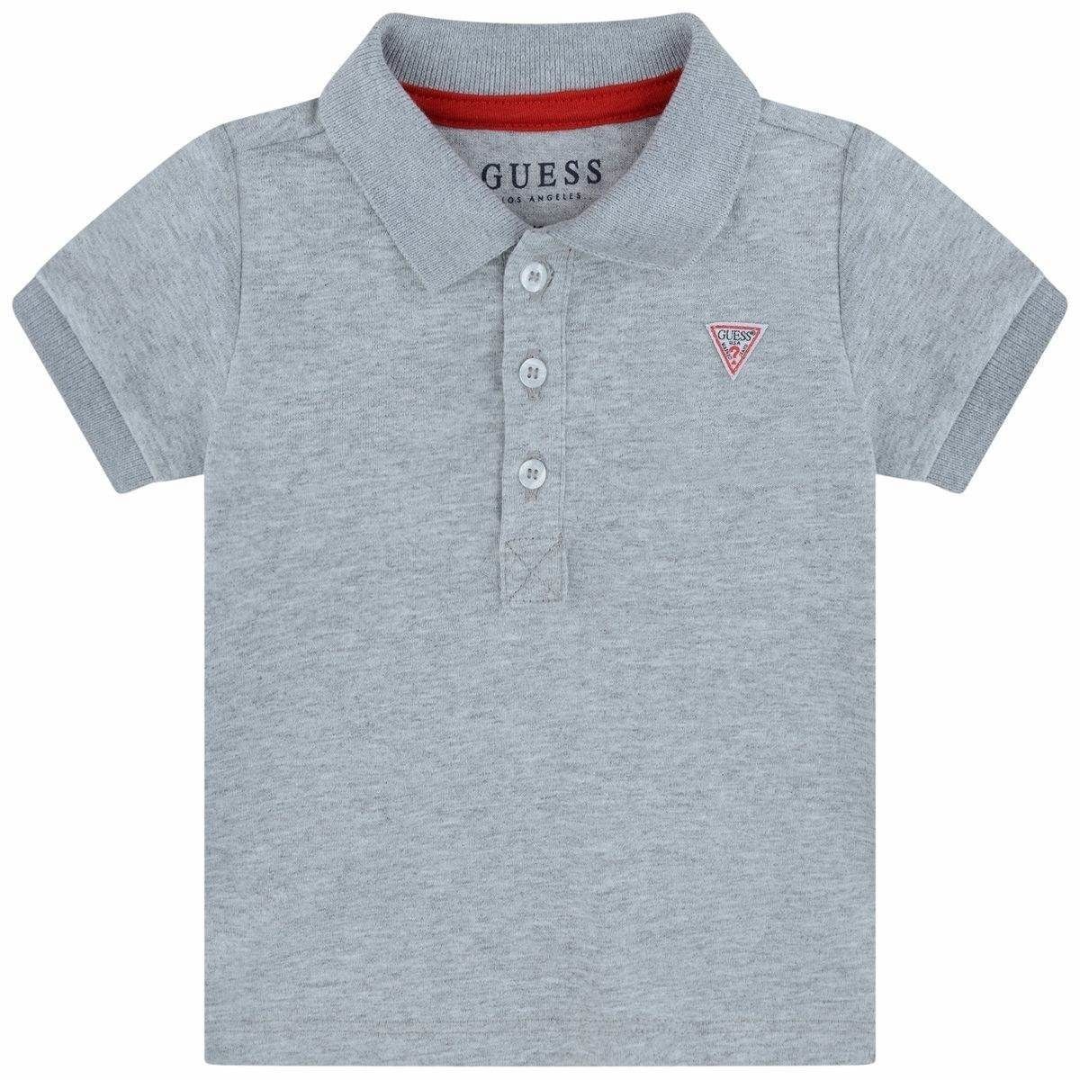 Guess Guess Boys Grey Poloshirt with small Logo