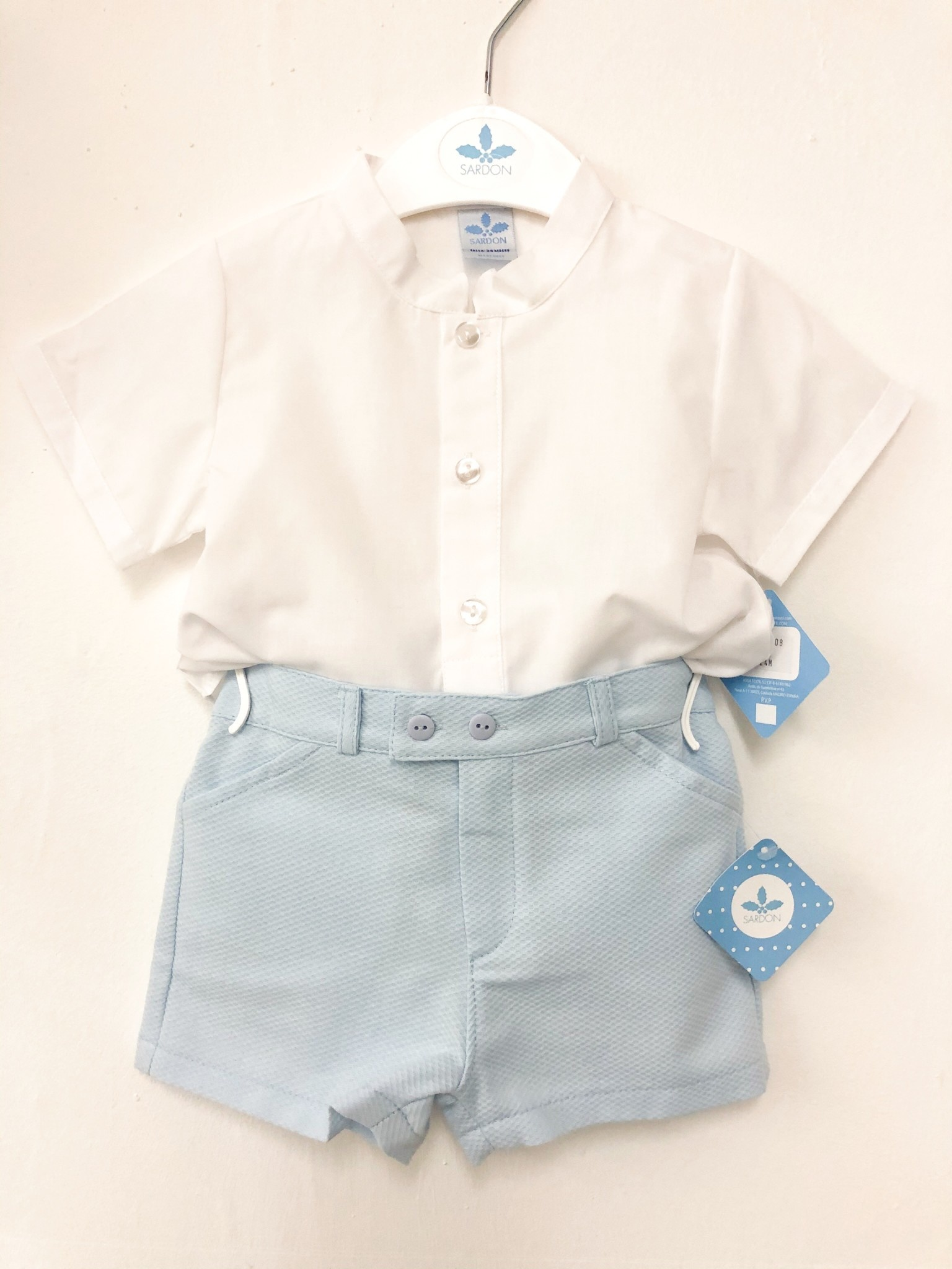 Sardon Sardon 20AB-01 Shirt & Short Set