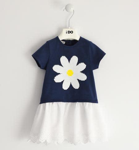 Ido Ido Navy Daisy Dress