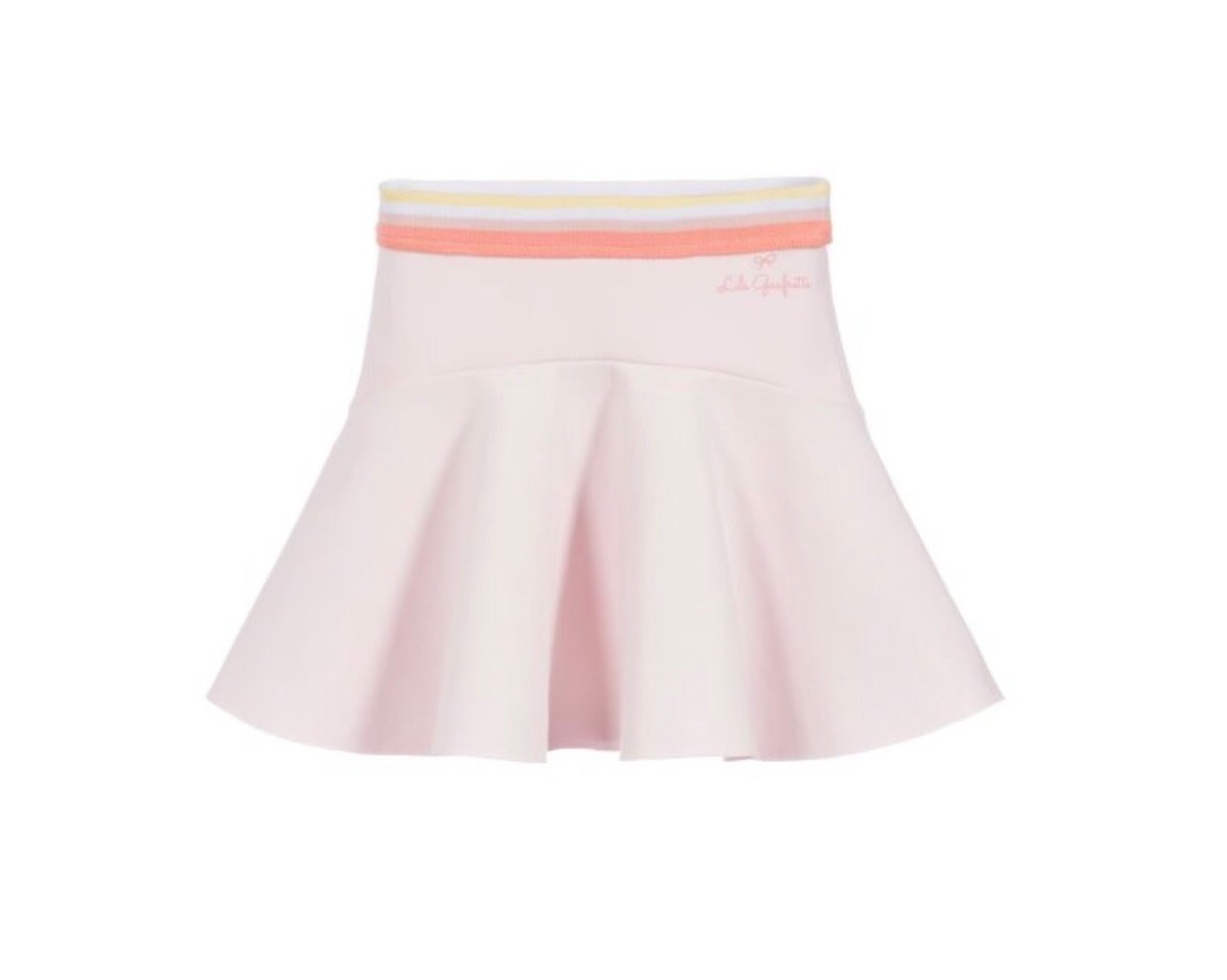 Lili Gaufrette 27022 Pink Skirt
