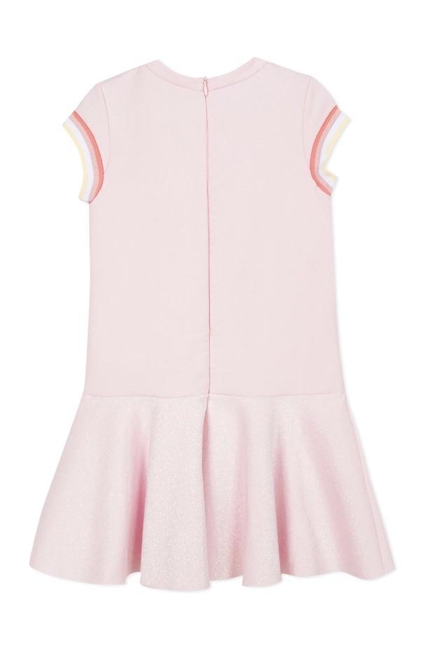 Lili Gaufrette Lili Gaufrette 30002 Pink Dress with band detail