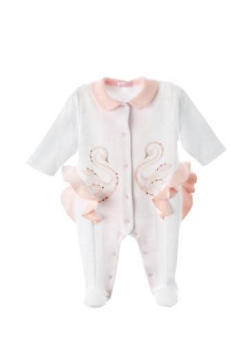Sofija Sofija Swan Frill Baby Grow