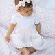 Patachou Baby 212 Pink & White Dot Dress