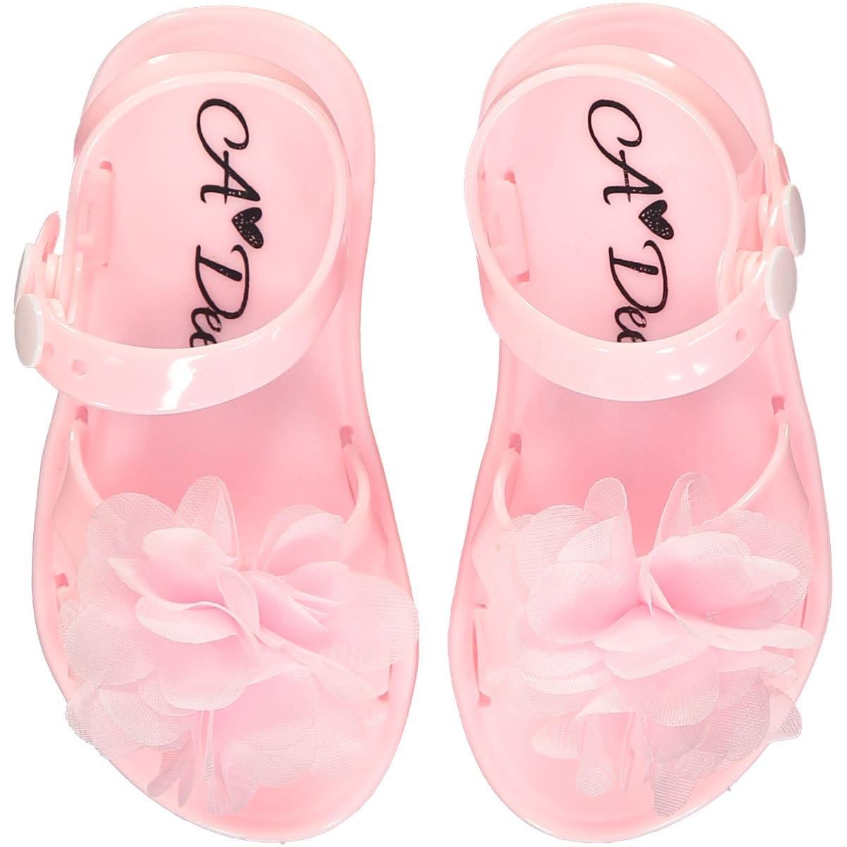 A Dee ADee Suzy Summer Jelly Shoe Pink