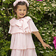 Patachou Patachou 525 Pink Ruffle Dress