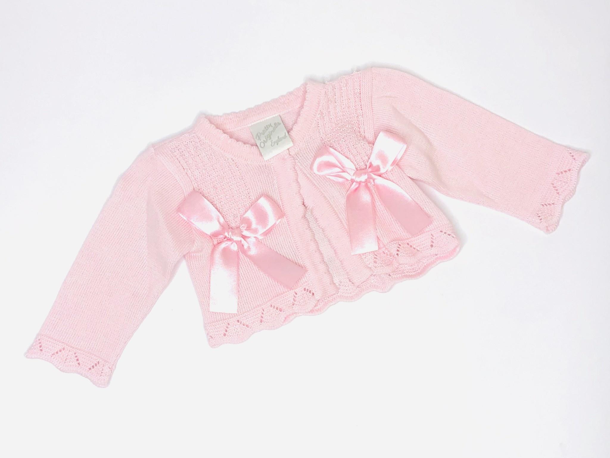 Pretty Originals Pretty Originals JP02761E Pink Cardigan