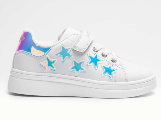 Lelli Kelly Lelli Kelly LK1828 White Trainer with Stars