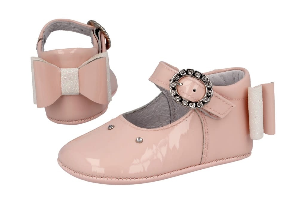 Andanines Andanines 201808 Pink Pam Show With Bow At Heel