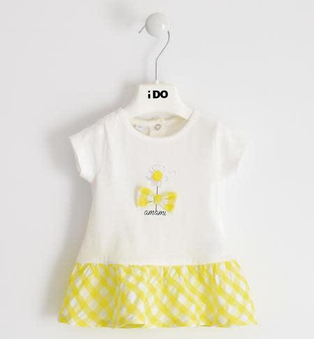 Ido Ido J643 Yellow & White Daisy Dress