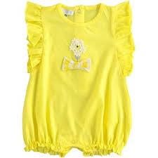 Ido Ido J648 Daisy Yellow Romper