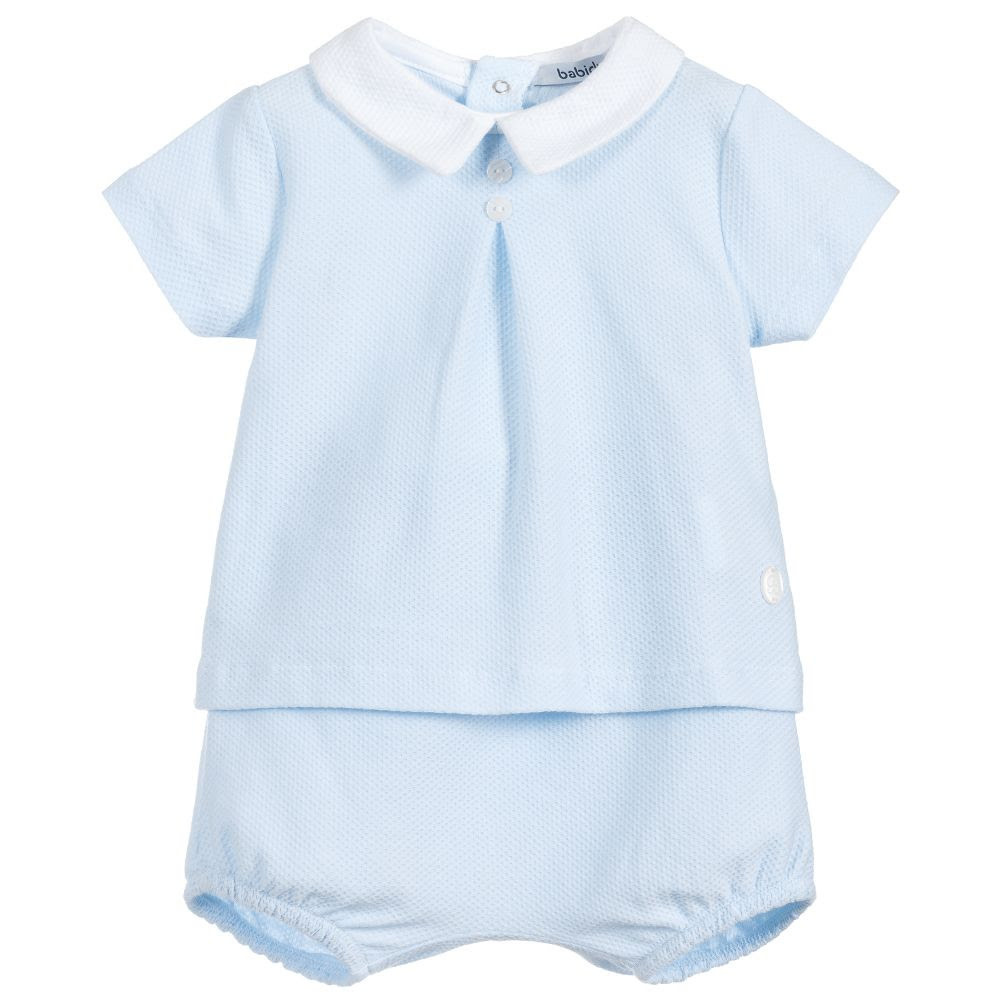 Babidu Babidu 46330 Patoco 2 Piece Set With Peter Pan Collar