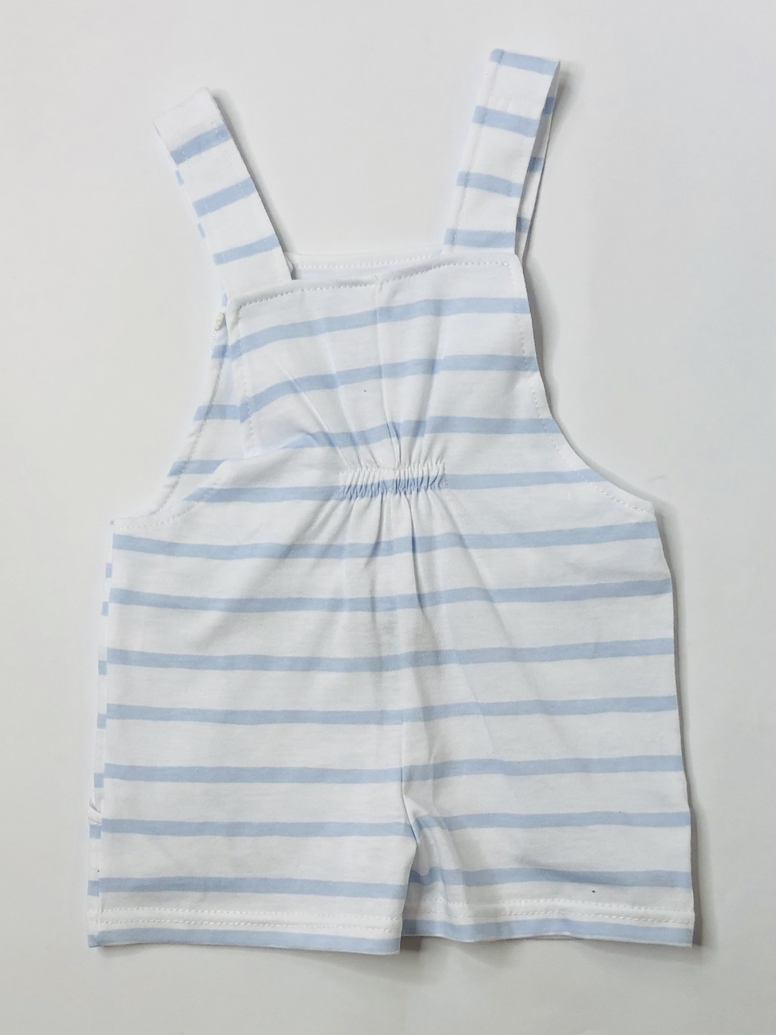 Babidu Babidu 30209 Blue/White Stripe Dungaree