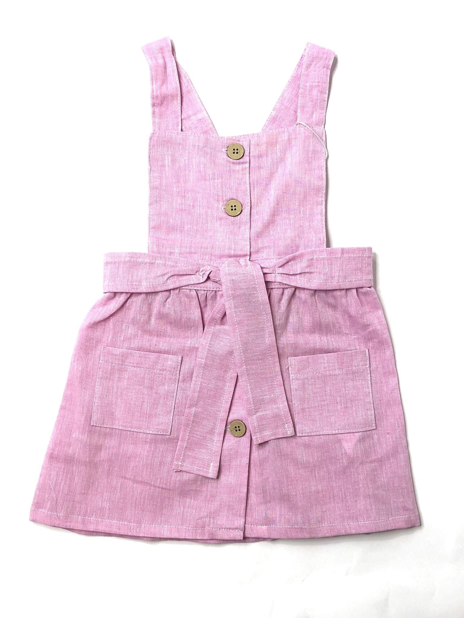 Babidu Babidu 91214 Pink Palermo Bow Dress