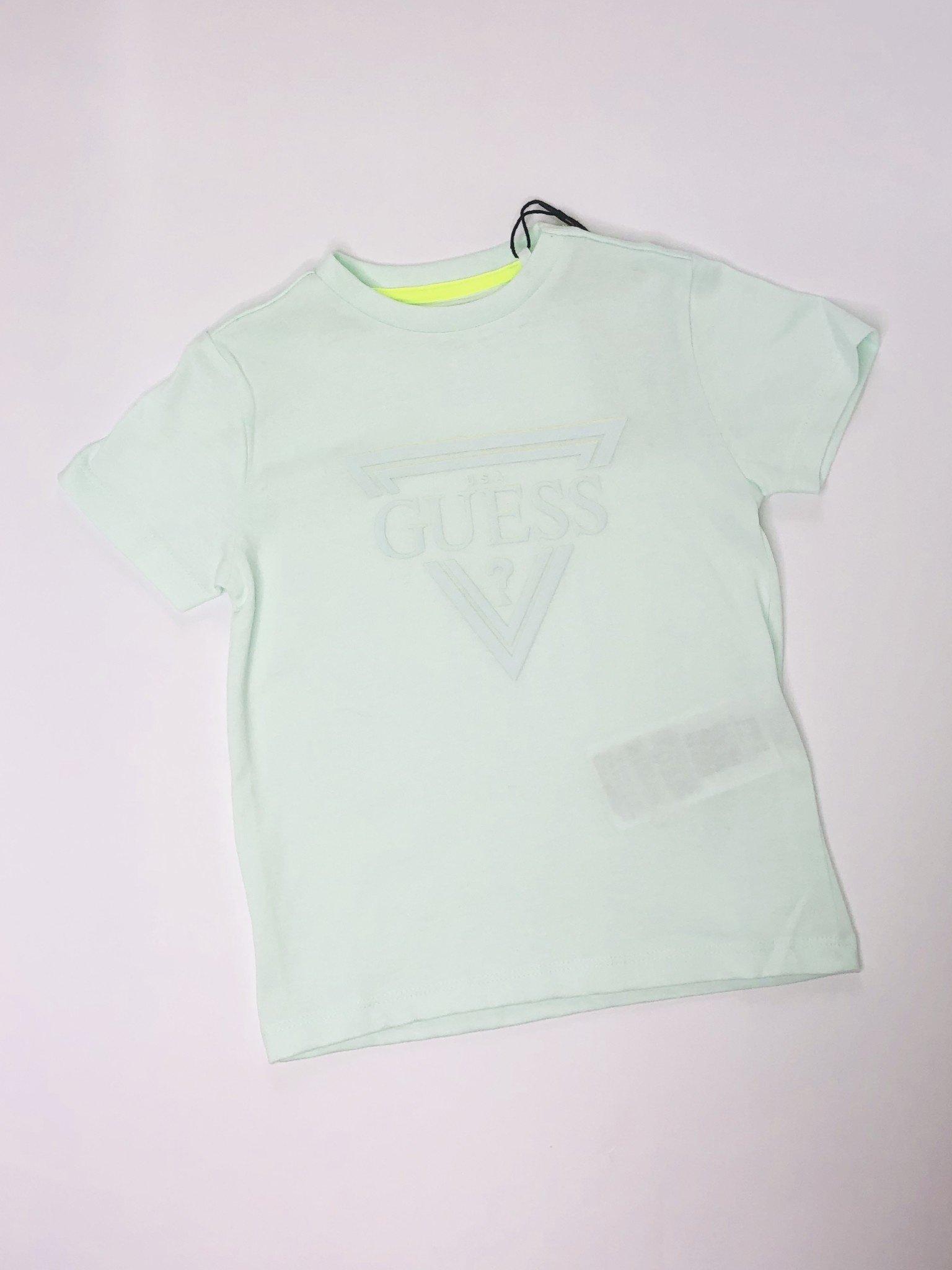 Guess Guess Boys Mint Logo T-shirt
