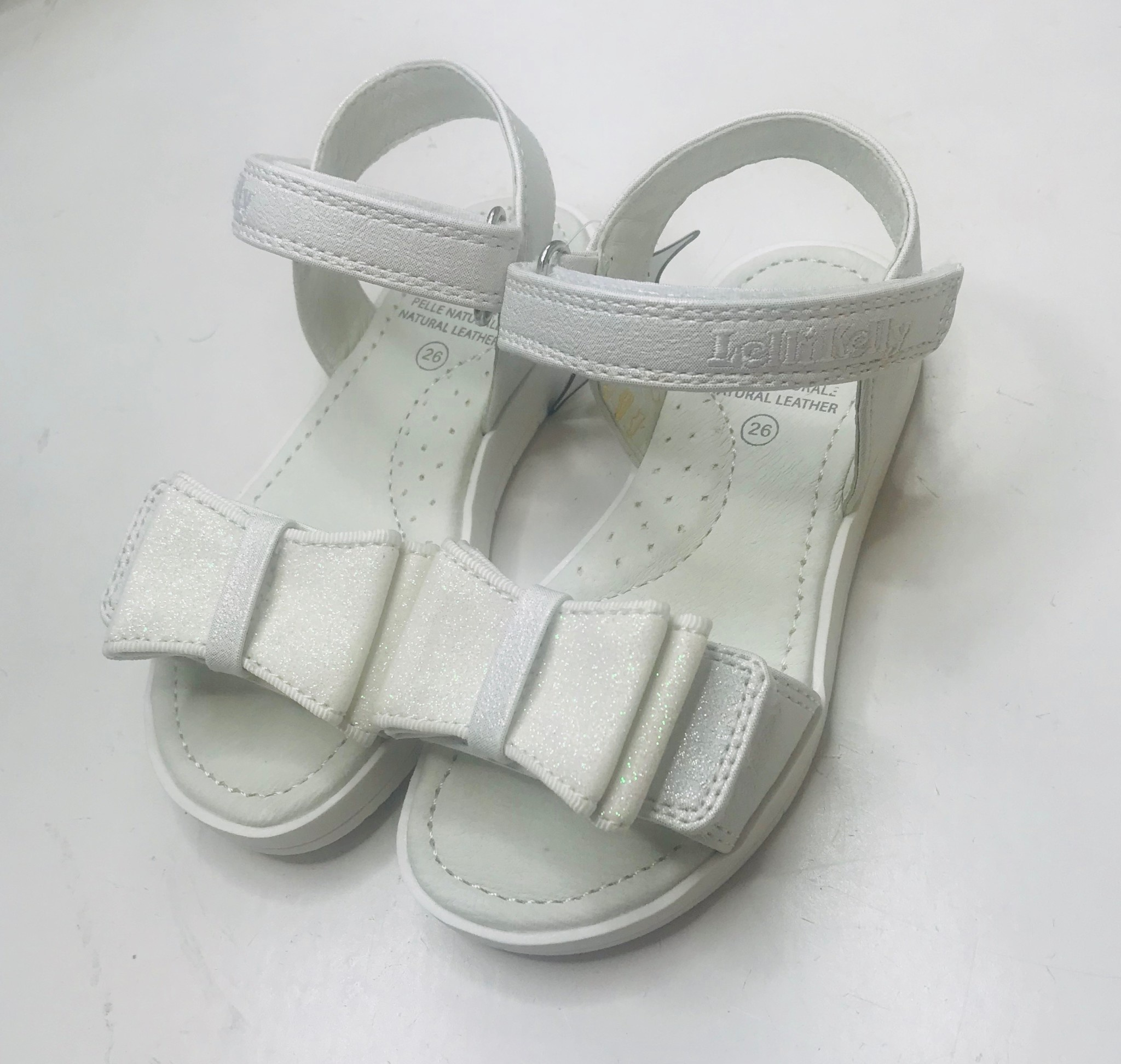 Lelli Kelly Lelli Kelly LK1520 White Sparkle Sandal