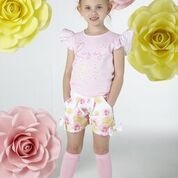 A Dee ADee Belle Pink Roses T-shirt