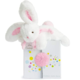 Dou Dou Doudou Et Compagnie White and Pink Fluffy Bunny