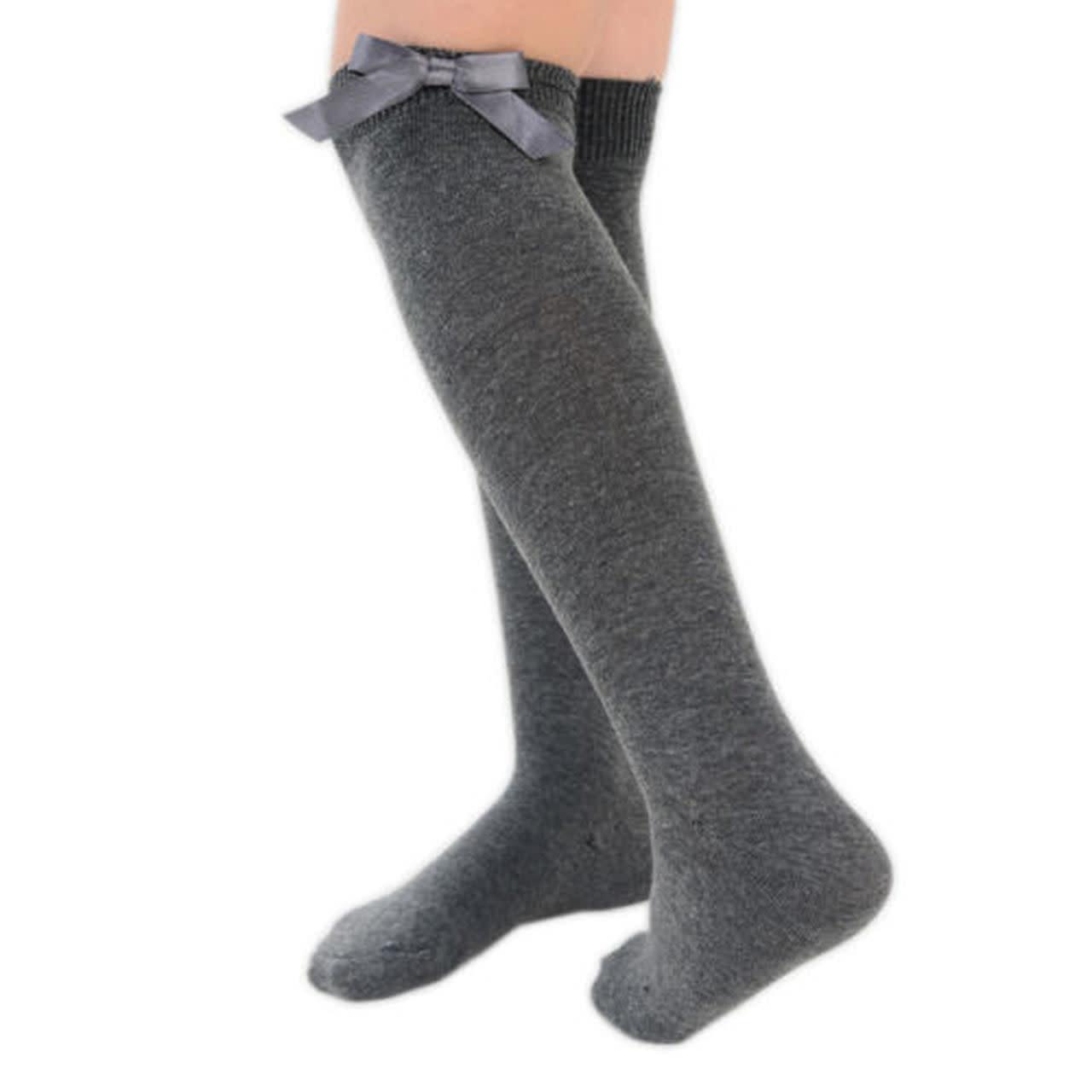 Pex Pex Grey Knee High Socks