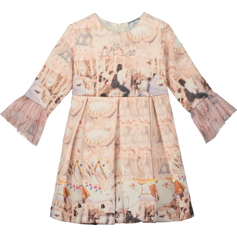 A Dee ADee Fifi Champagne Carousel Dress