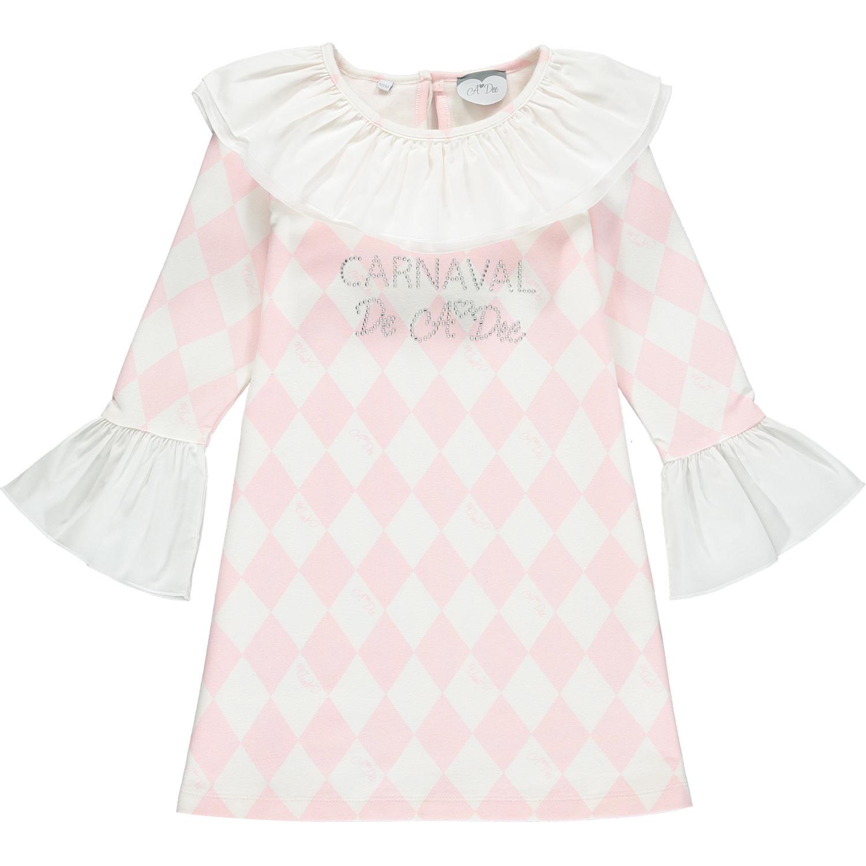 A Dee ADee Freeda Pink Harlequin Dress AGE 10