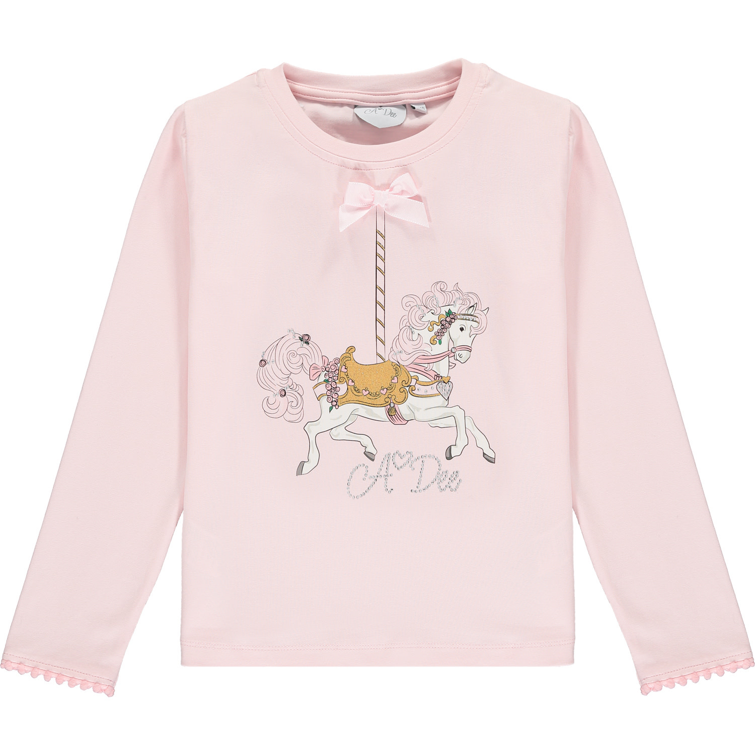 A Dee ADee Flora Pink Horse Top