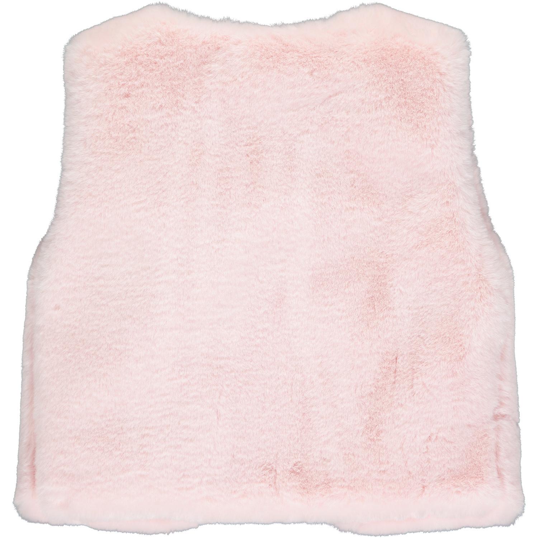 A Dee ADee Francesca Pink Faux Fur Gillet