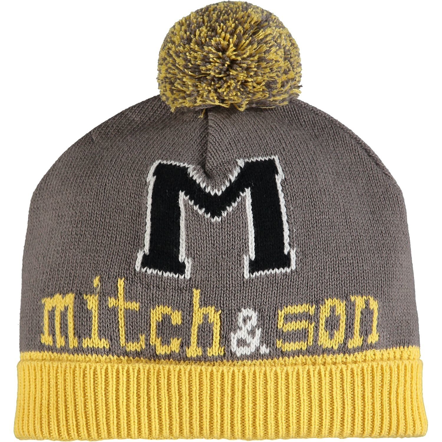Mitch and Son Mitch & Son Declan Dark Grey Taxi Hat