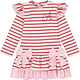 A Dee ADee Enya Pink Fairy Stripe Dress With Bows