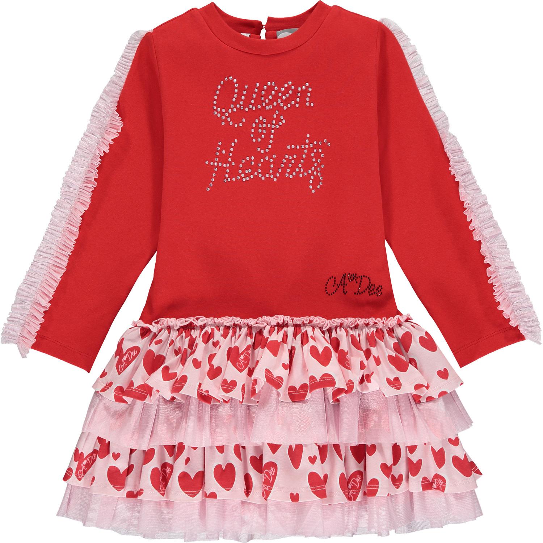 A Dee ADee Elanna Red Queen Of Hearts Dress