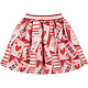 A Dee ADee Elaine Red Queen Of Hearts Skirt