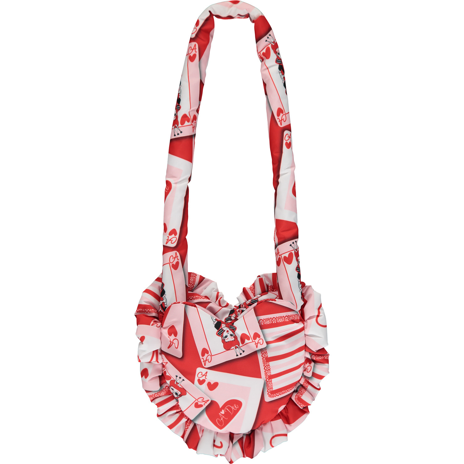 A Dee ADee Evette Red Queen Of Hearts Bag