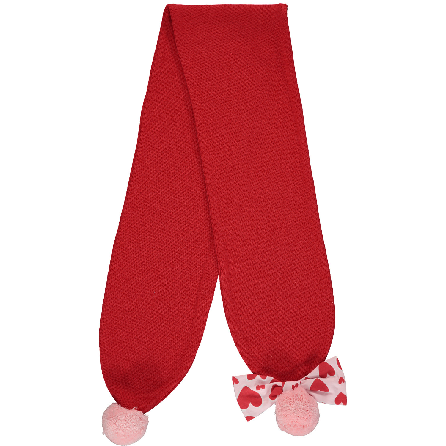 A Dee ADee Effy Red Hearts Scarf