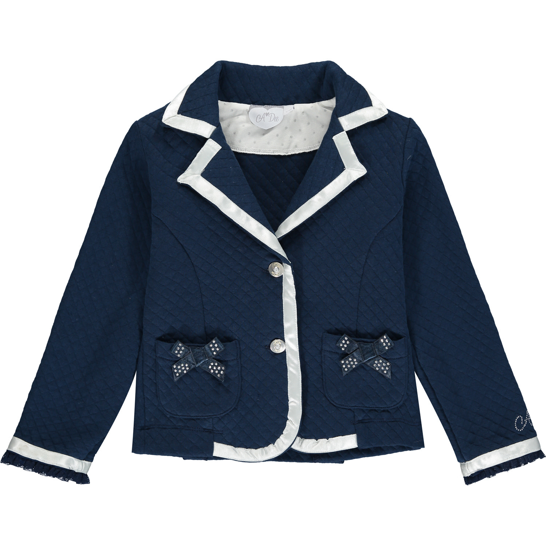 A Dee ADee Heidi Navy Blue Blazer