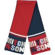 Mitch and Son Mitch & Son Bentley Navy/Red Scarf