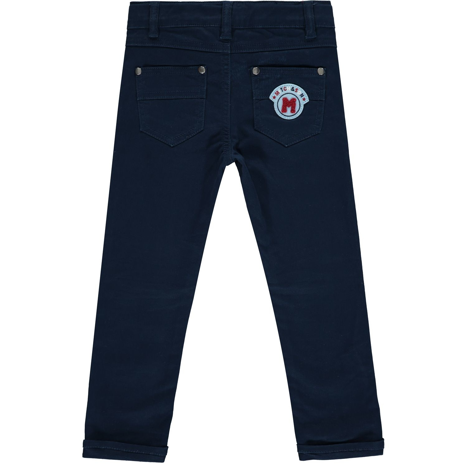 Mitch and Son Mitch & Son Duncan Navy Twill Trouser