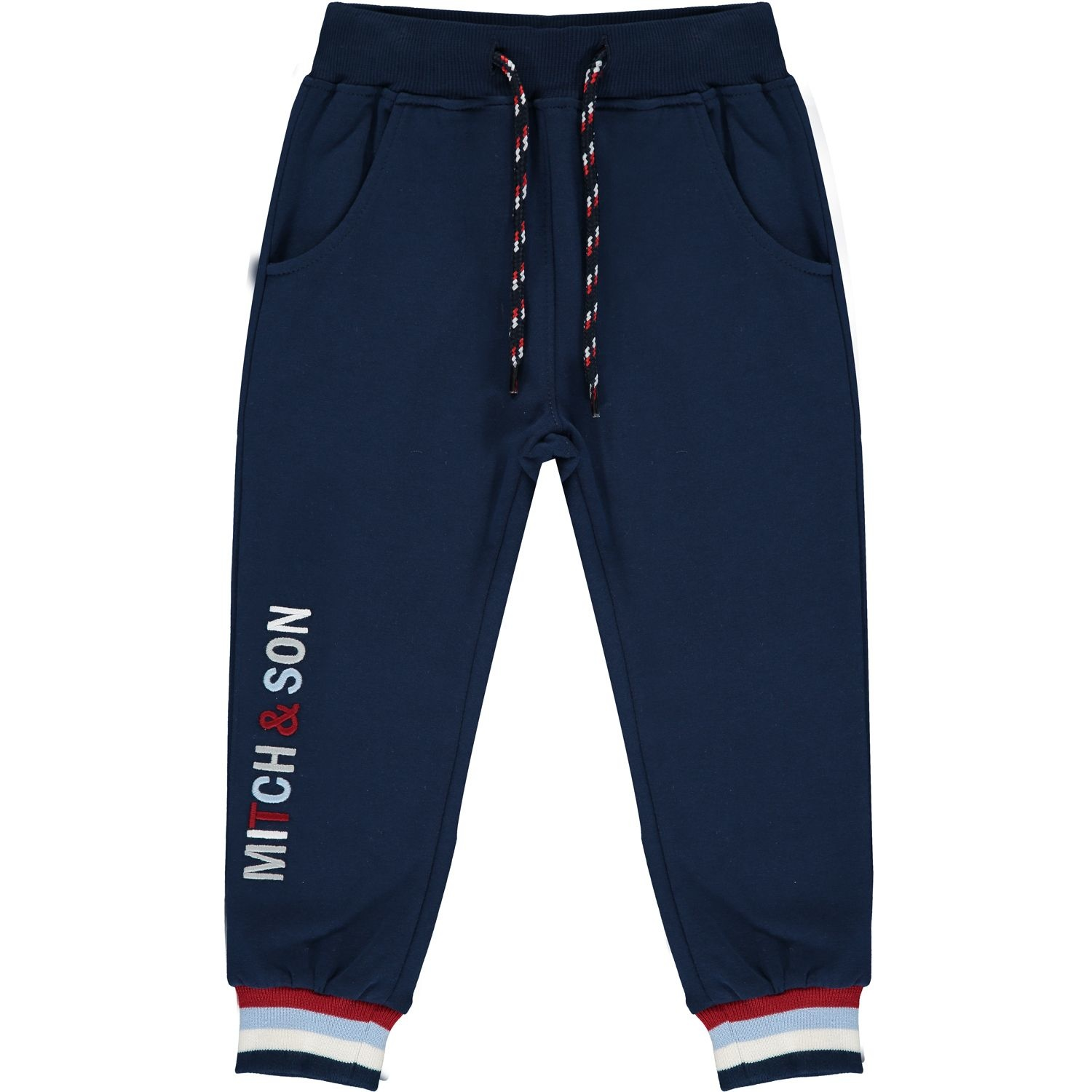Mitch and Son Mitch & Son Karl Navy Zipper Tracksuit