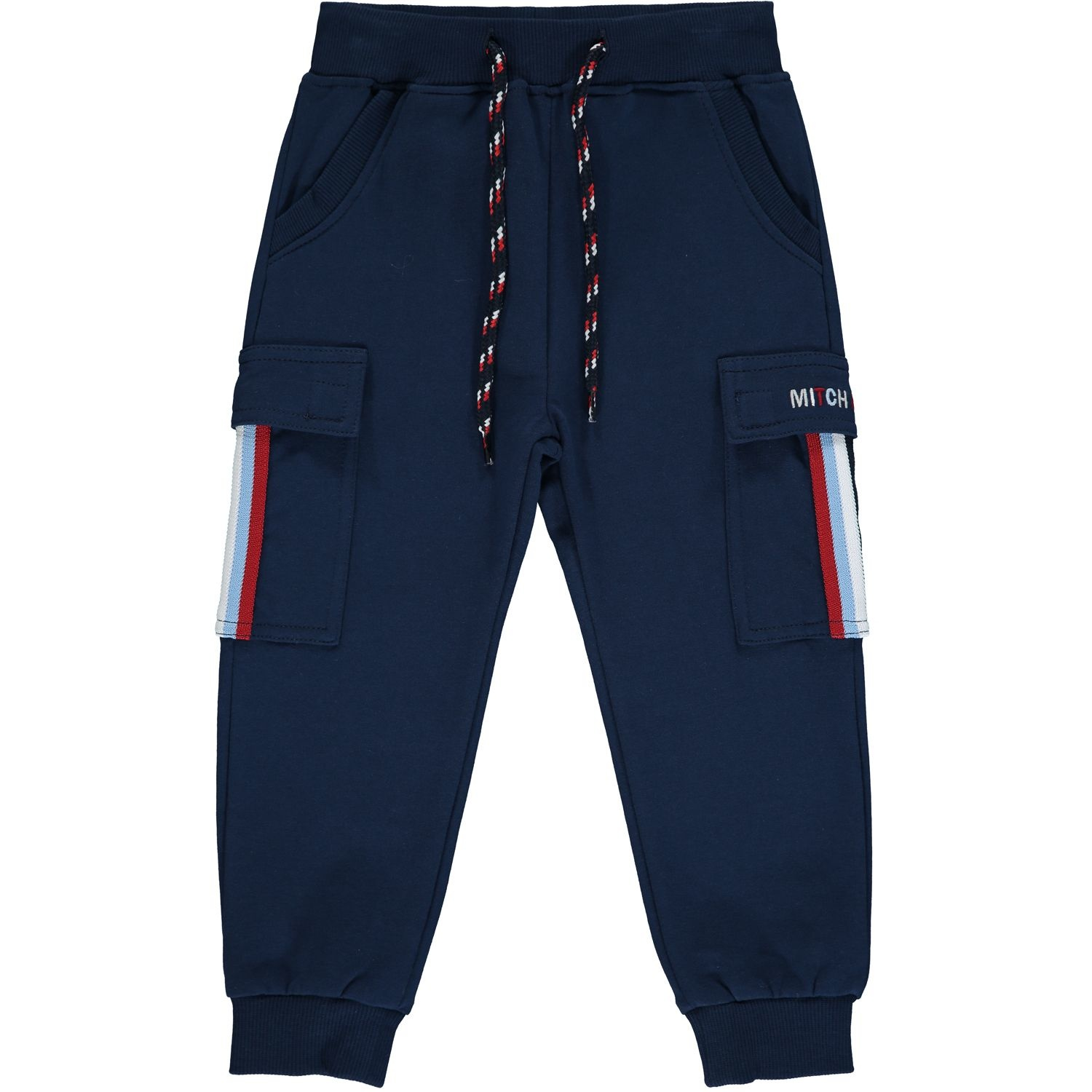 Mitch and Son Mitch & Son Connor Navy Loop Back Tracksuit - 12 Months