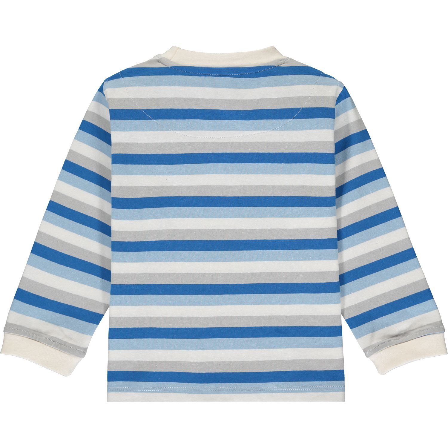 Mitch and Son Mitch & Son Gael White/Blue Stripe Compass Top