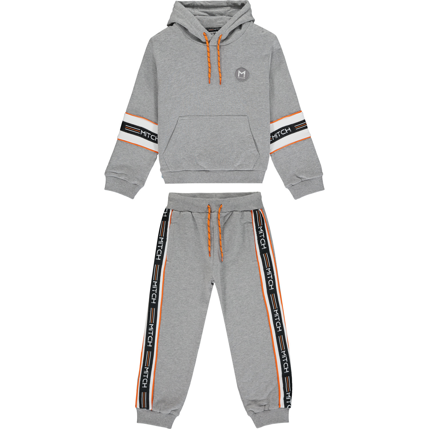 mitch MiTCH Jose Grey Embossed Tracksuit