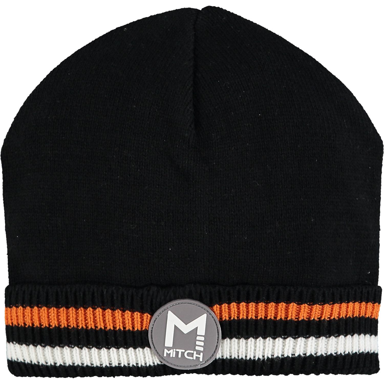 mitch MiTCH Kayden Black Knitted Hat