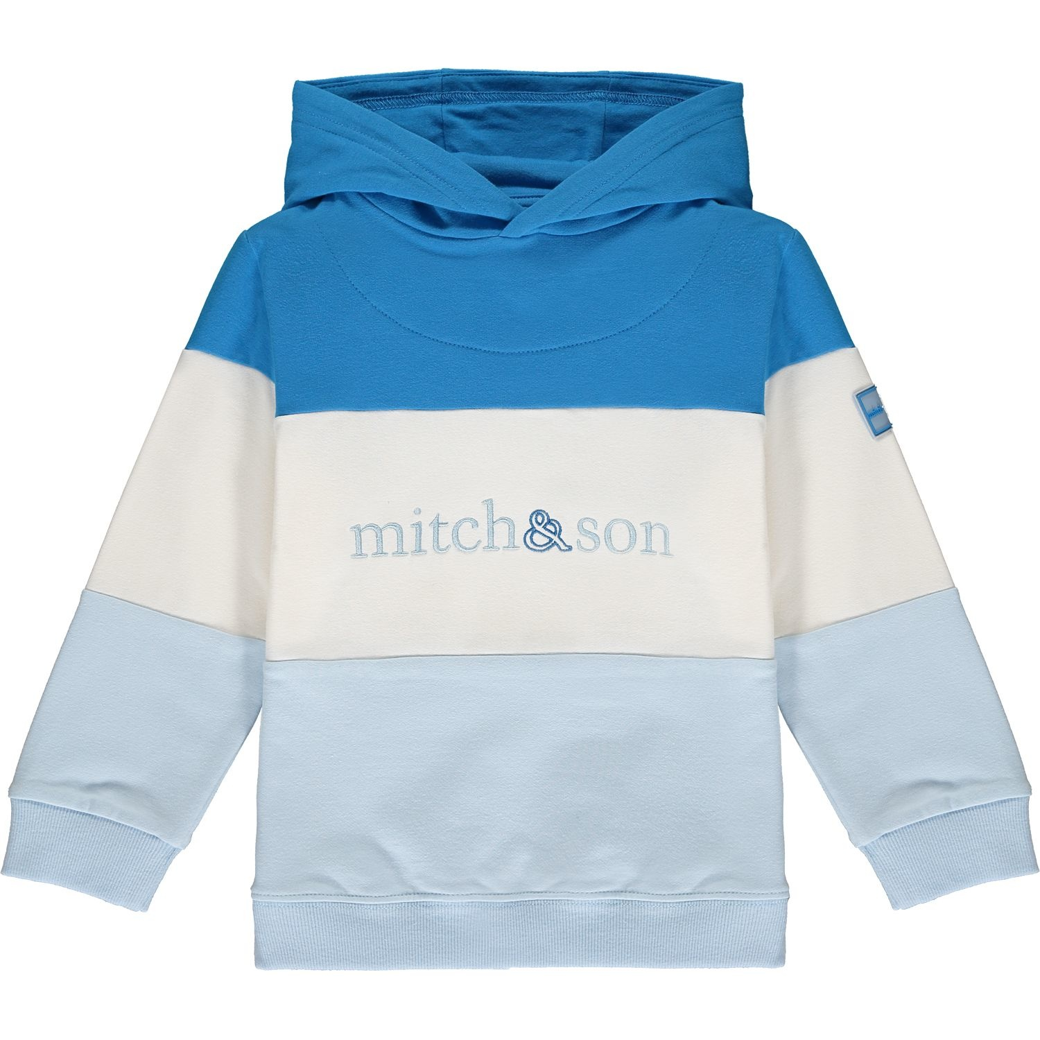 Mitch and Son Mitch & Son Diego Blue Colour Block Tracksuit