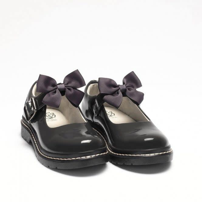 Lelli Kelly Lelli Kelly Grey Audrey School Shoe DR01