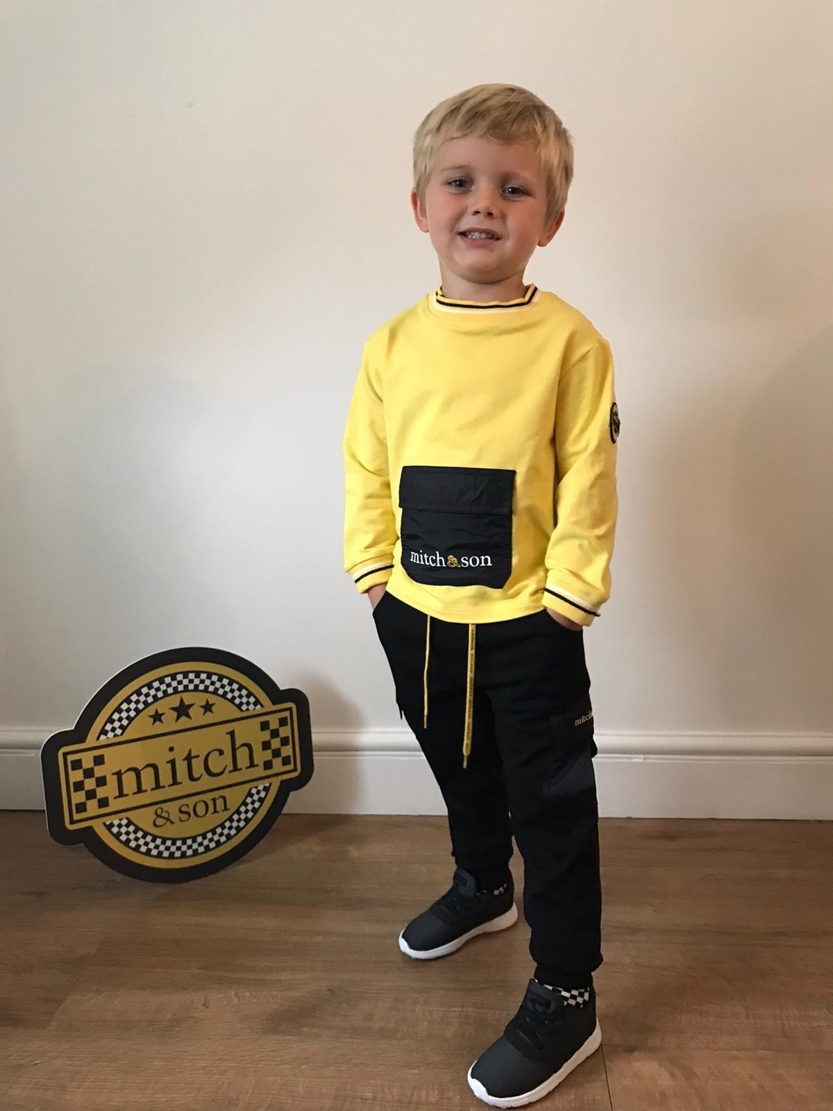 Mitch and Son Mitch & Son Gavin Black Cargo Pants