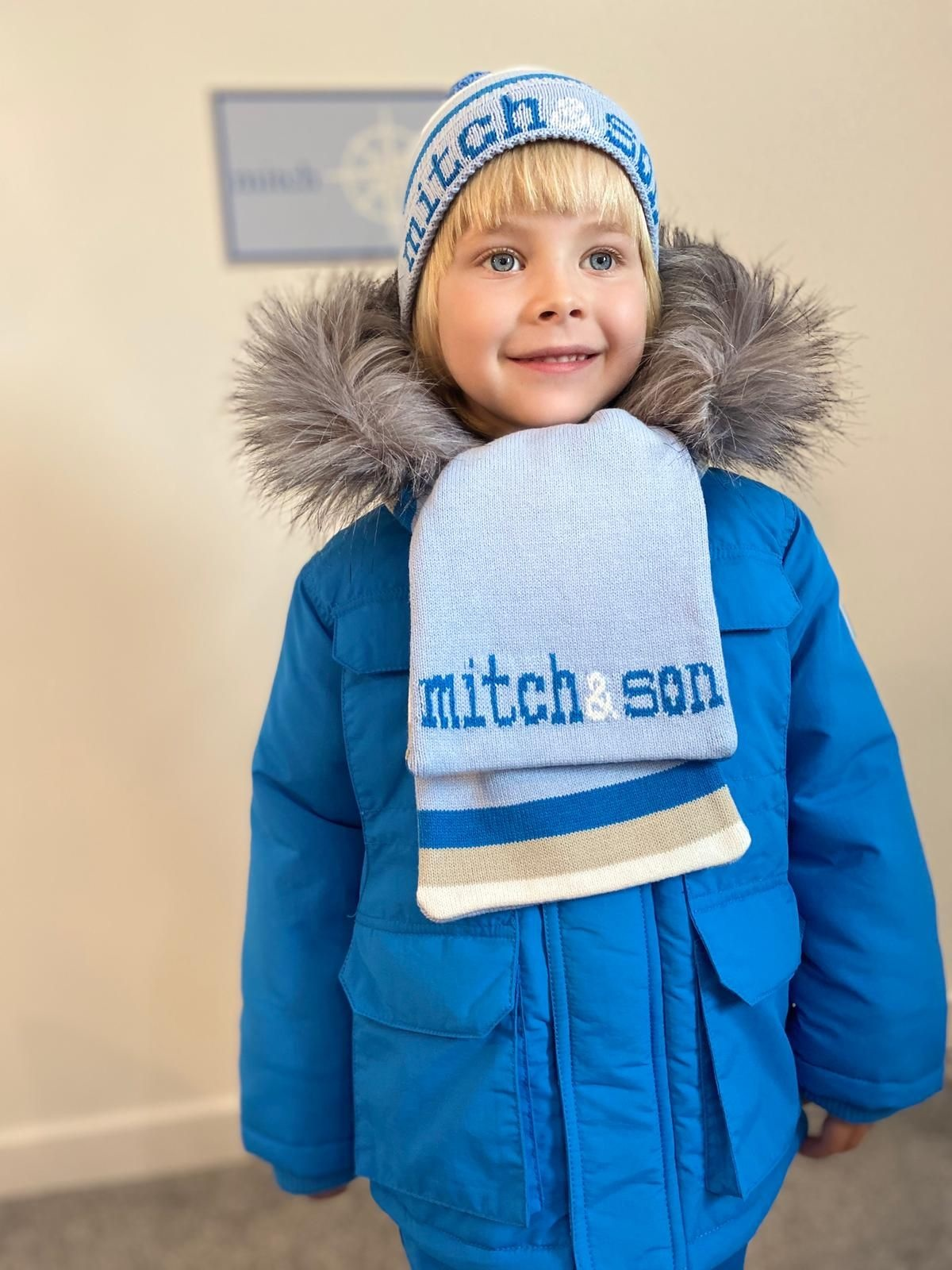 Mitch and Son Mitch & Son Tyler Pale Blue Explore Hat