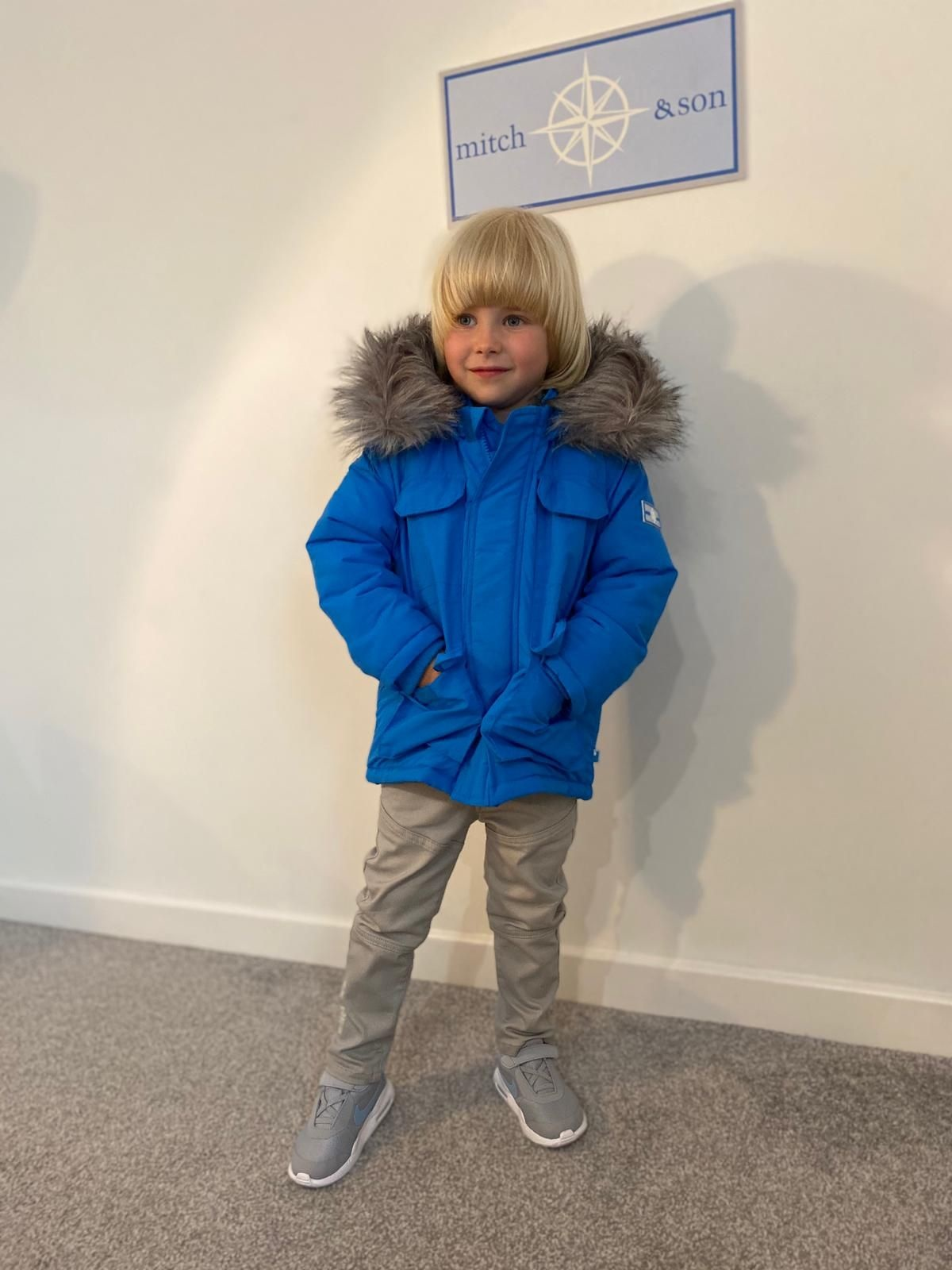 Mitch and Son Mitch & Son Tristan Brilliant Blue Exploration Jacket